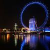 London Eye Reflections