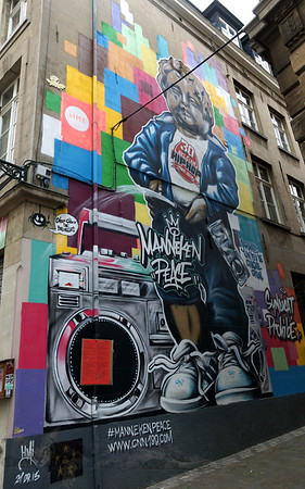 Street Art in Brussels