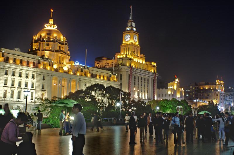 Bund at night, Shanghai