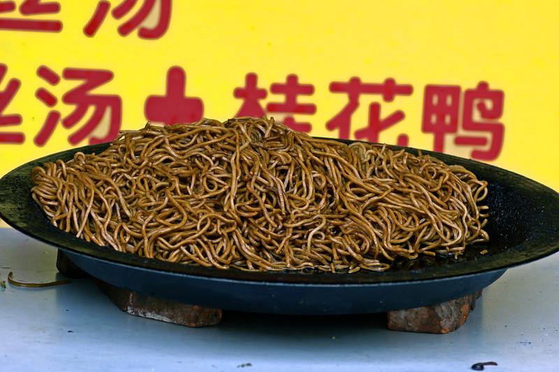 Street noodles, Hongkou District, Shanghai