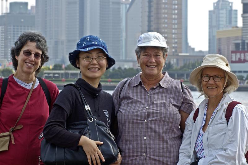 Tourists on Bund, Shanghai