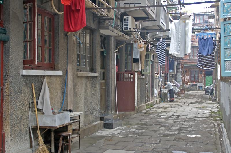Lanes, Hongkou District, Shanghai