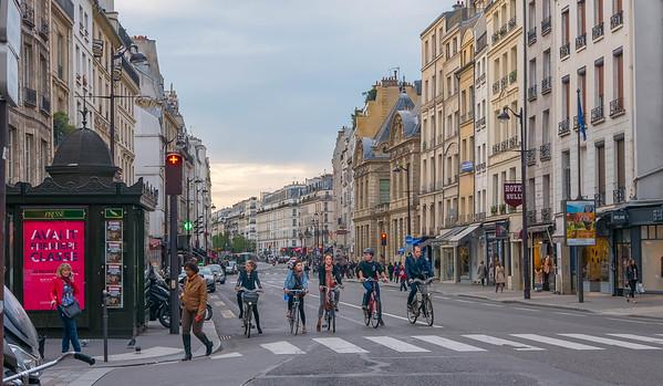 Ligne de Depart, Paris