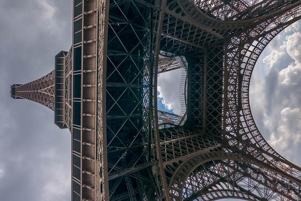 Eiffel Tower from Below 1
