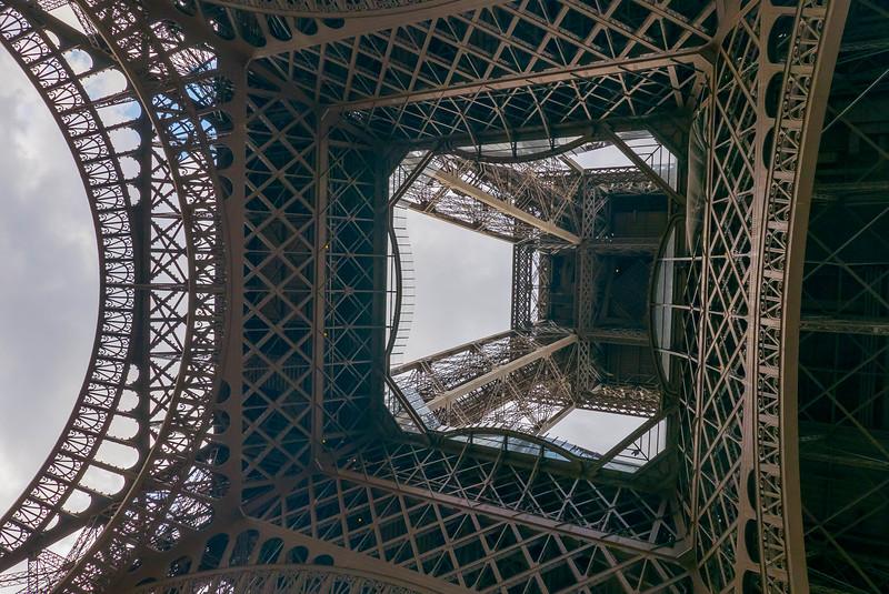 Eiffel Tower from Below 2
