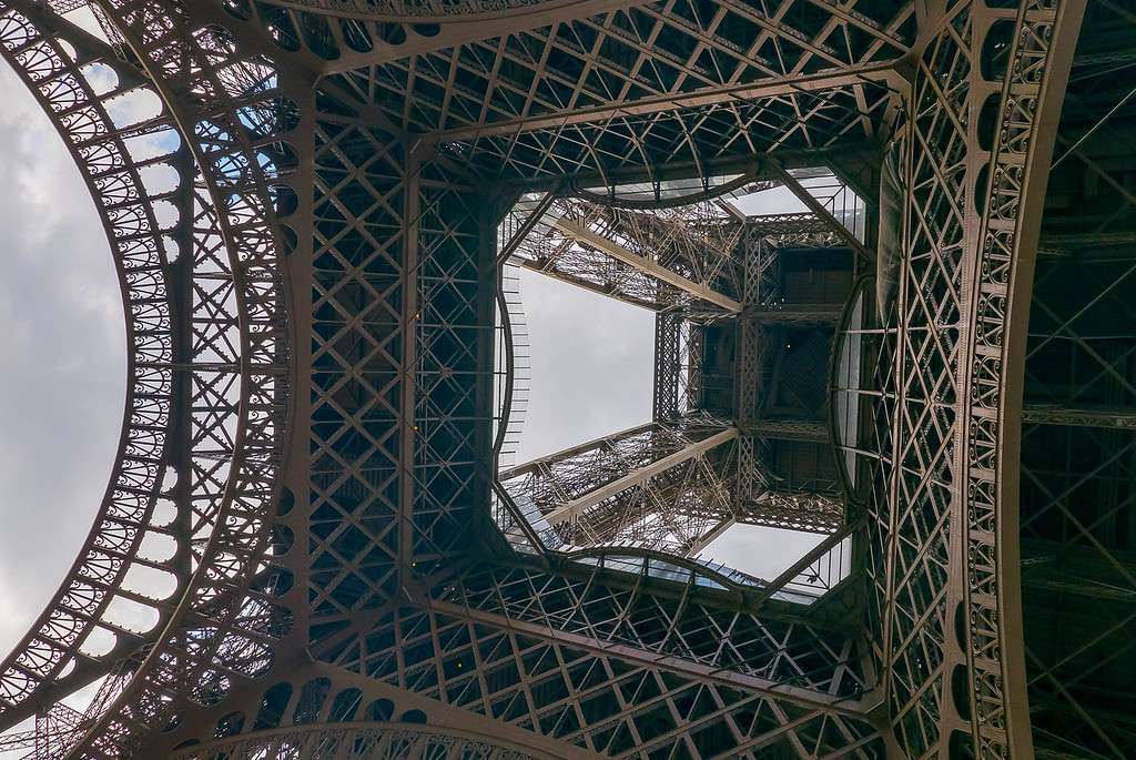 Eiffel Tower from Below 2