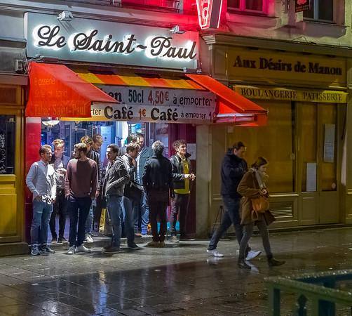 Cafe Le Saint-Paul, Paris