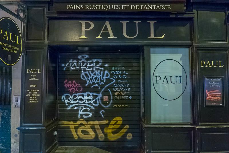 Grafitti Paul, Paris.