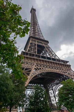 Eiffel Tower Park View 1