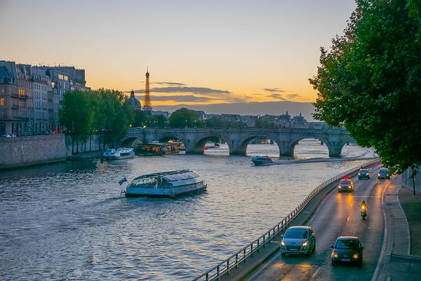 Voie Georges Pompidou, Paris