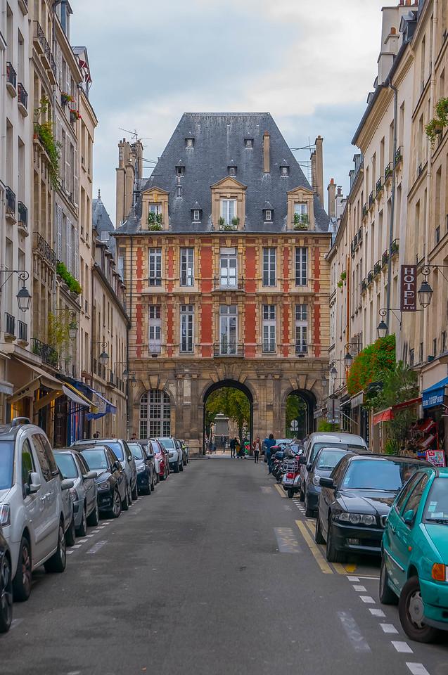 Rue de Birague, Paris