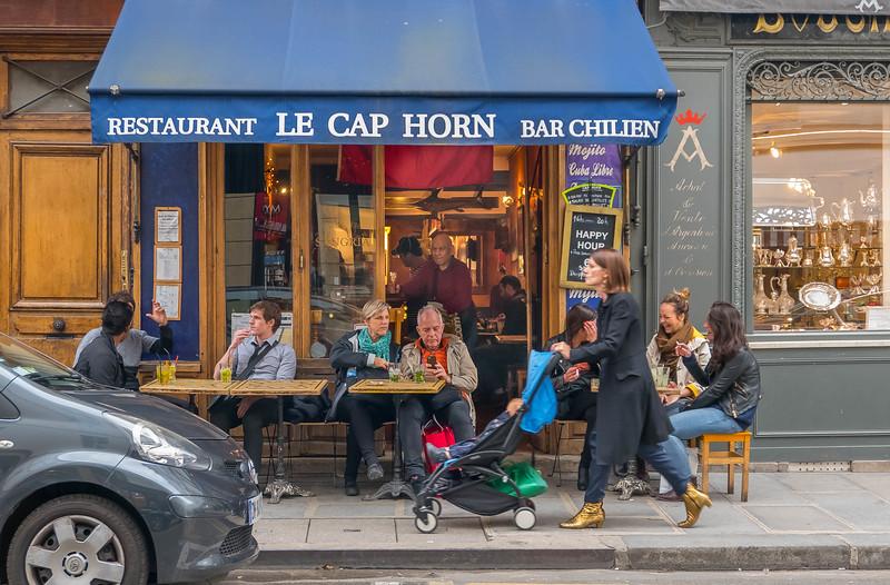 Restaurant Le Cap Horn, Paris
