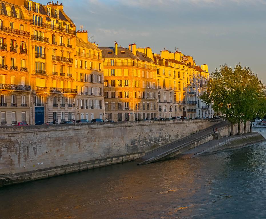 Quai d'Orléans, Île Saint-Louis, Paris