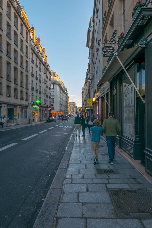 Rue des Deux Ponts, Île Saint-Louis, Paris
