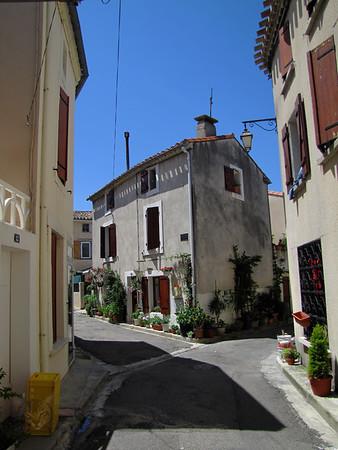 Street in Bram - Occitanie - France