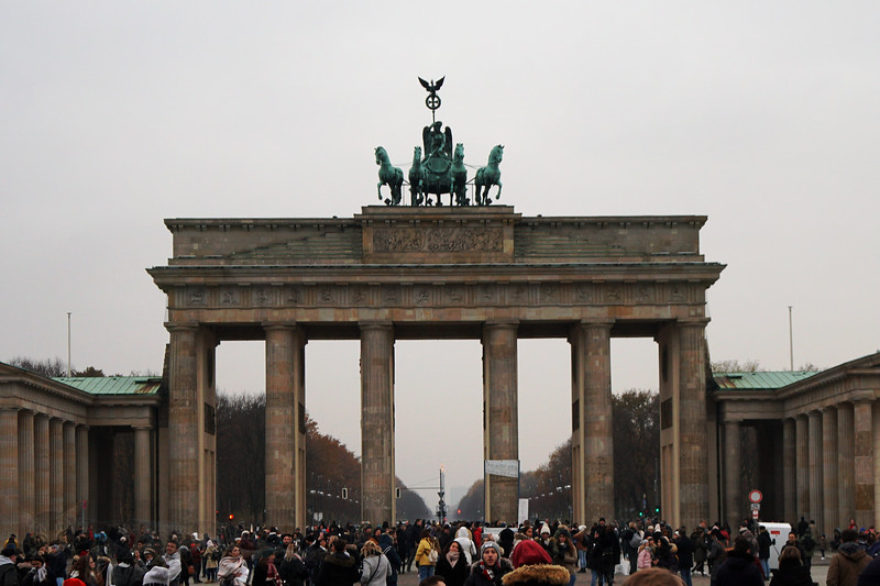 The Brandenburg Gate - Berlin