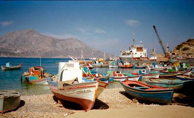 Boats in Samos (80s)