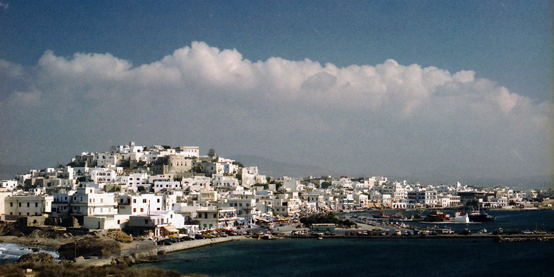 Naxos Town in the 80s