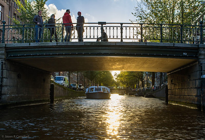 Amsterdam Sunset Canal
