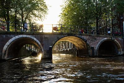 Amsterdam Sunset Canal II