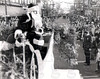 Christmas Parade, downtown Jeffersonville, IN 1950's