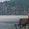 Woman on a Bench, Torbole, Lago di Garda, Italy