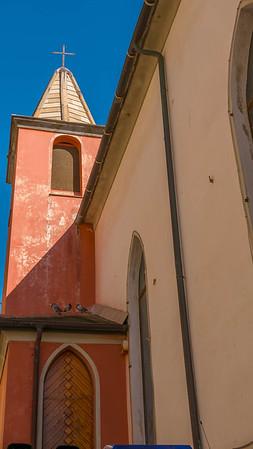 Chiesa Compagnia di Nostra Signora Assunta, Riomaggiore, Cinque Terre, Italy