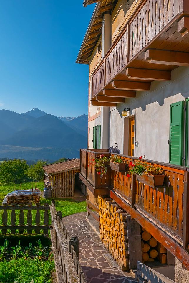 Terraces, Varena, Italy