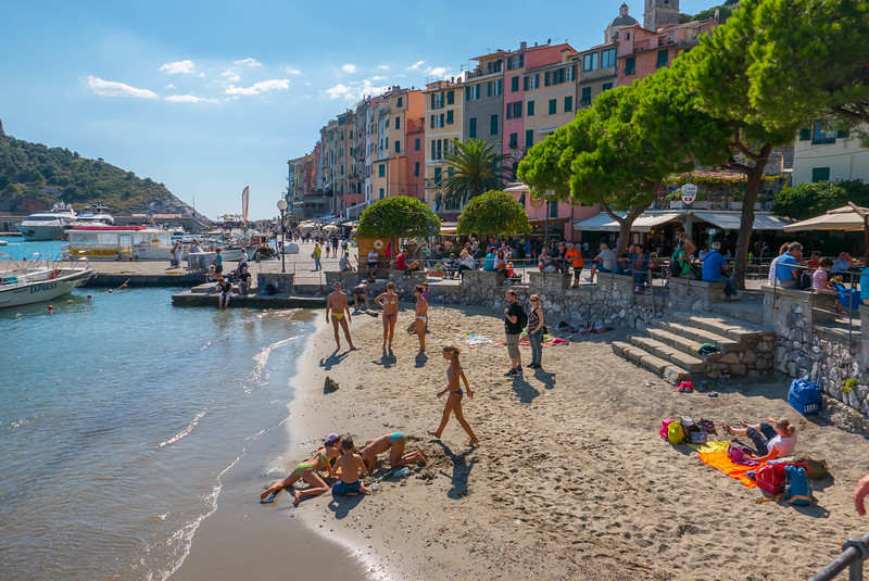 The Little Beach, Portovenere, Italy