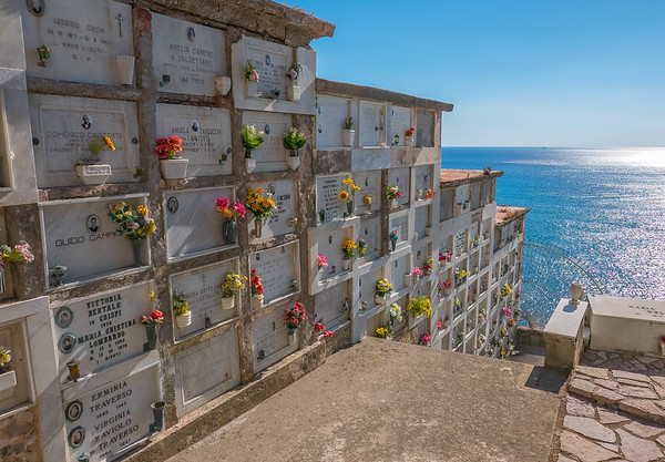 Graveyard with a View 2, Chiesa di San Lorenzo, Portovenere, Italy