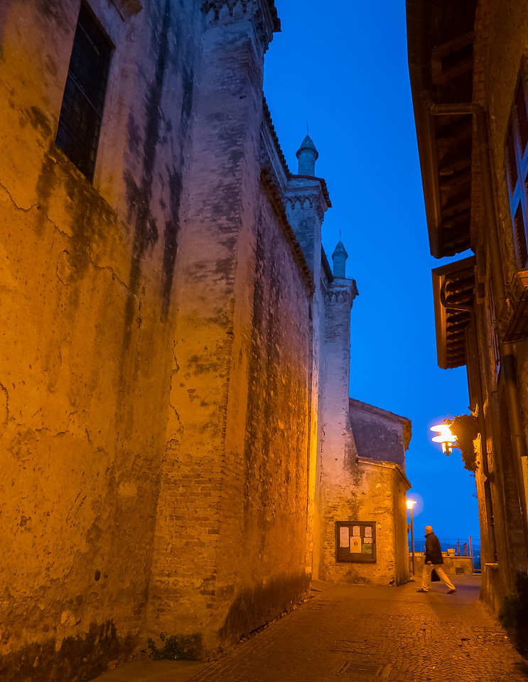 Night Man, Sirmione, Lombardy, Italy