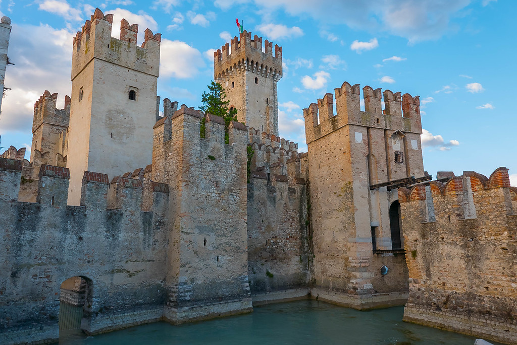 Scaliger Castle, Sirmione, Lombardy, Italy