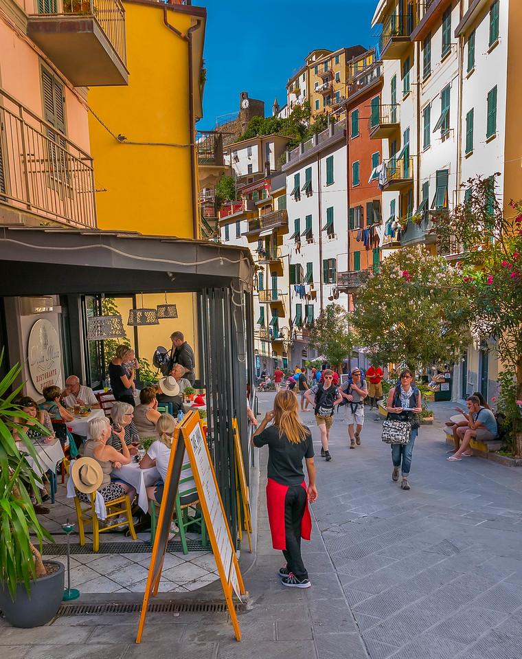 Strada Riomaggiore 1, Cinque Terre, Italy