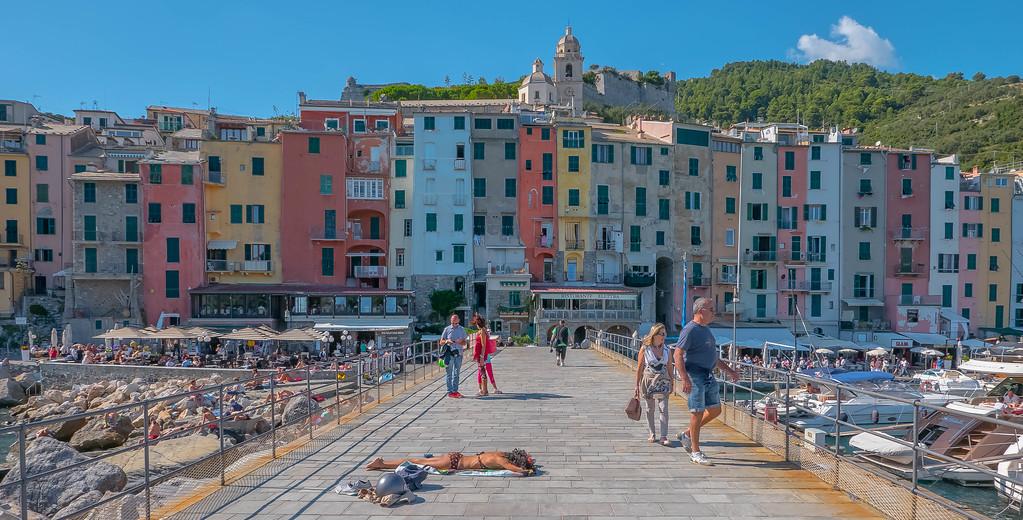 Portovenere Pier, Portovenere, Italy