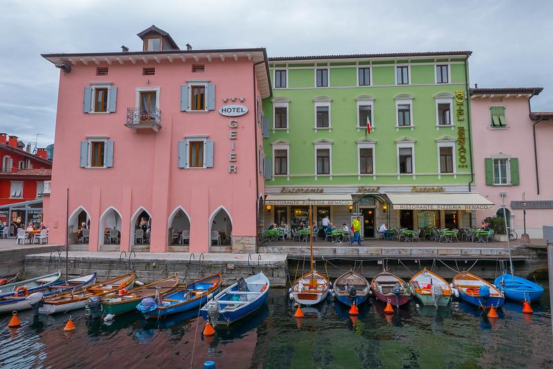 Hotel Geier & Hotel Benaco, Torbole, Italy