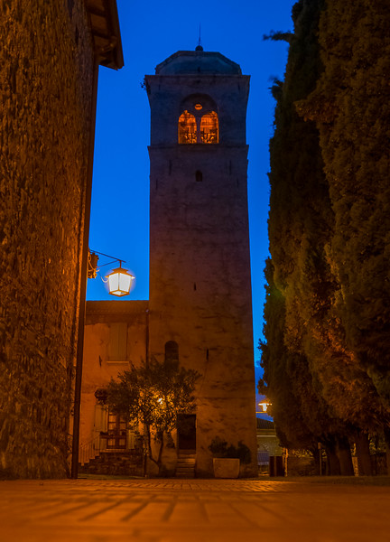 Bell Tower, Sirmione, Lombardy, Italy