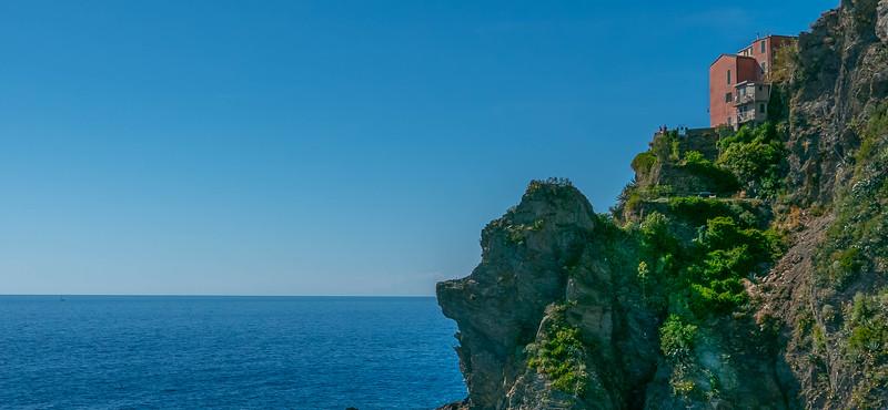 Cliff House, Manarola, Cinque Terre, Italy