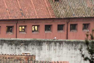Regina Coeli prison from the Gianicolo Hill