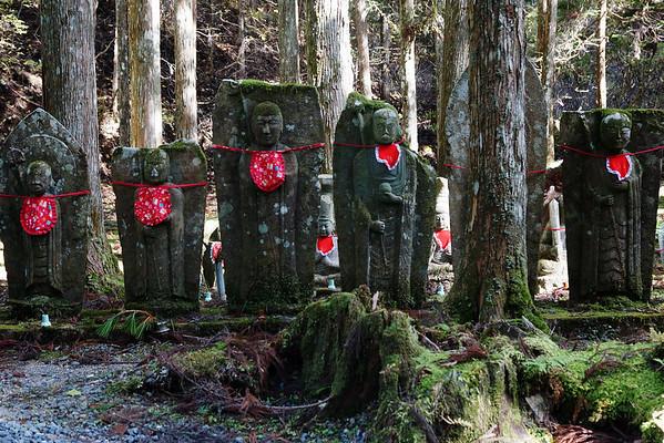 Ojizo-sama in Okunoin Cemetery in Japan