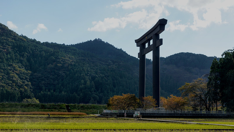 Oyunohara Torii Shrine Gate
