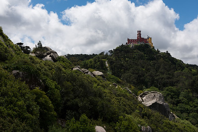 Sintra Castle, Sintra, Portugal