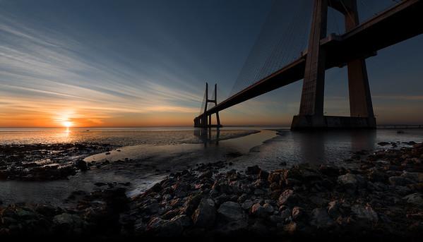 Ponte Vasco da Gama, Lisbon, Portugal