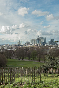 Greenwich - beyond the fence