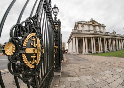 Greenwich - Old Royal Naval College, Anchors Gate & Painted Hall
