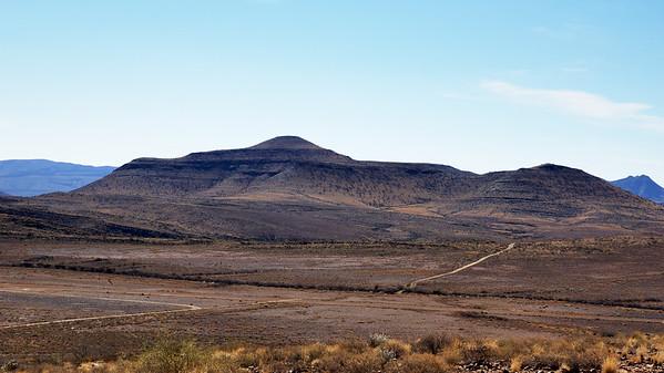 Panorama in Namibia