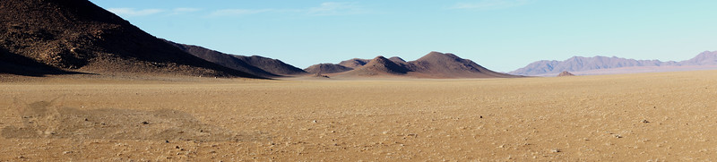 Panorama in Namibia