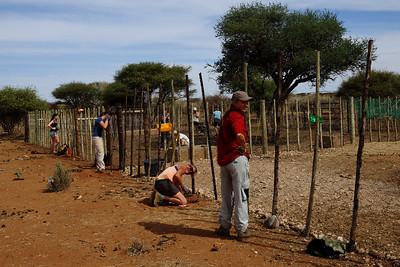 Volunteers at Naankuse