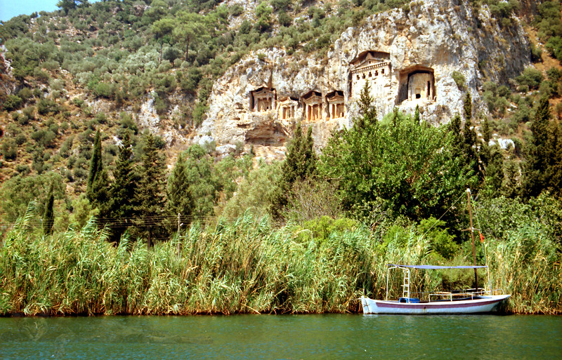 Kaunos Rock Tombs - Dalyan - Turkey