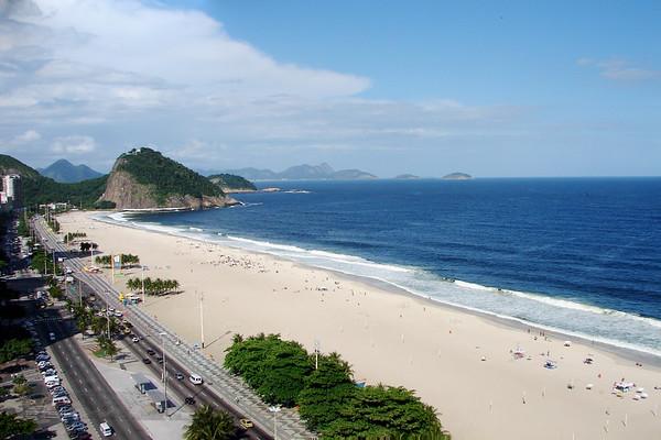 Copacabana Beach and Sugar Loaf Mountain, Rio de Janeiro, Brazil