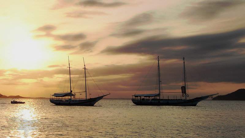 Boats in Buzios - Brazil